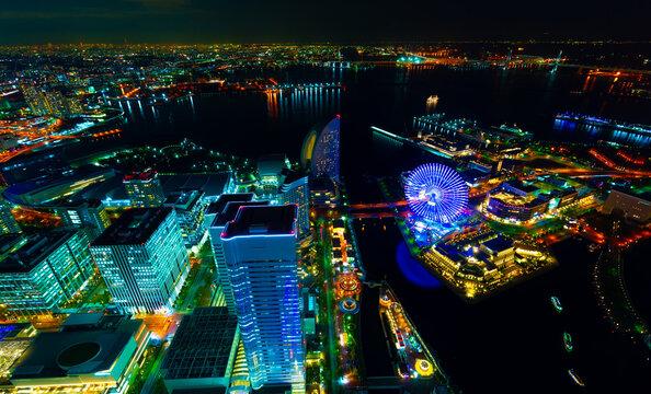 横浜夜景 みなとみらい 2019年1月