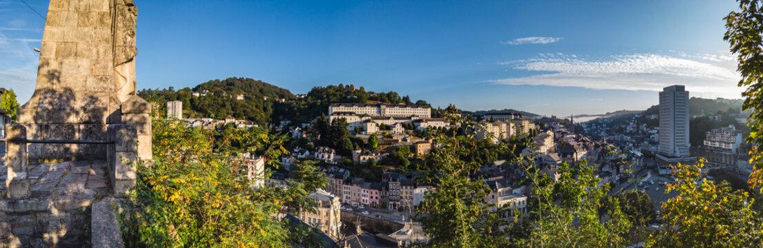 Tulle (Corrèze, France) - Vue panoramique de la ville