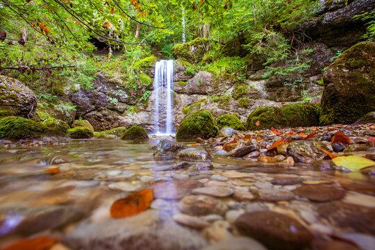 Allgäu - Wasserfall - Immenstadt - Herbst - Alpsee -