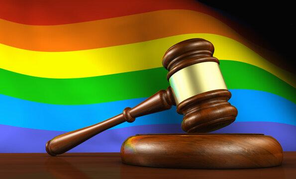 Lgbtq Laws And Lgbt Legislation Concept