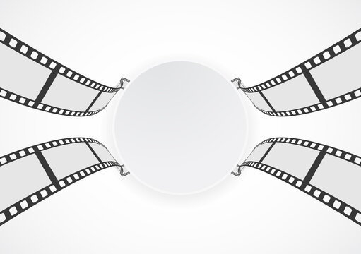 Film strip roll with