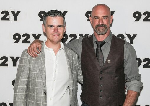 Michael Ausiello, Christopher Meloni at a public appearance for Christopher Meloni in Conversation with Michael Ausiello