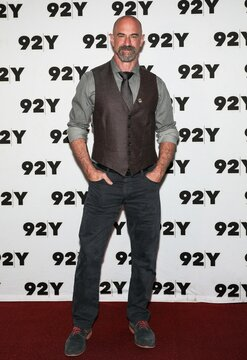 Christopher Meloni at a public appearance for Christopher Meloni in Conversation with Michael Ausiello