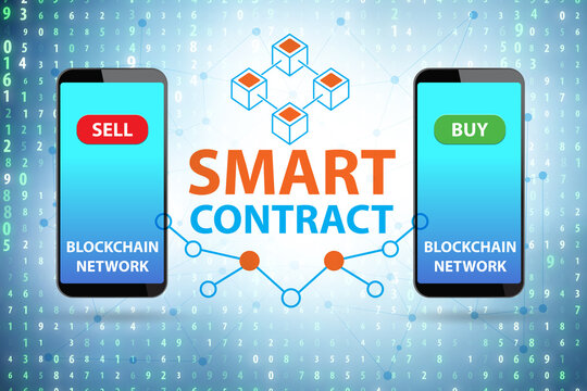 Usage of smartphone in smart contracts