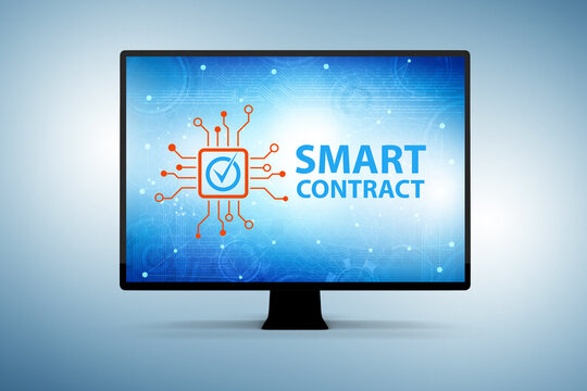 Smart contracts as illustration of blockchain technology