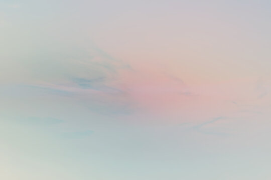 abstract sky blurred background, summer nature aerial sky view