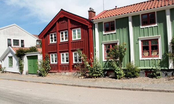houses in Kalmar city Sweden