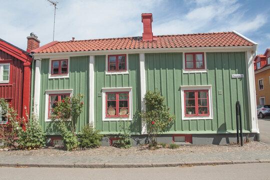 old house in Kalmar Sweden