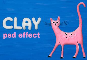 Fototapeta Clay Design with Effect obraz
