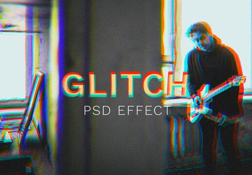Glitch Overlay in 3D Tone Add-On