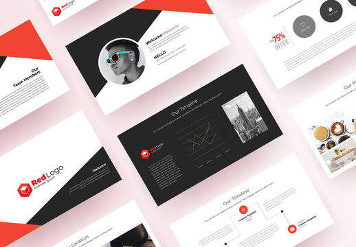 Corporate Business Presentation Layout