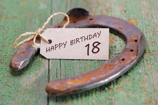 Happy congratulations to the 18th birthday