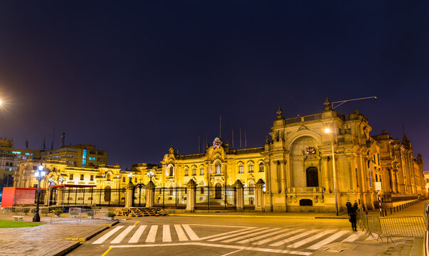 Government Palace of Peru in Lima