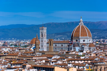Fototapeta premium Panorama miasta Florencja