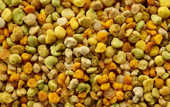 pollen background macro