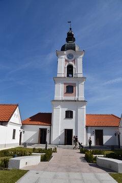 Pokamedulski Klasztor w Wigrach, Podlasie, Wigierski Park Narodowy,