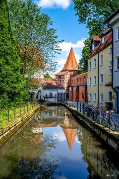 Bettelturm, Memmingen, Bayern, Deutschland