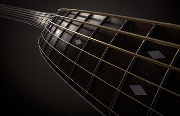 Groovy Guitar Neck