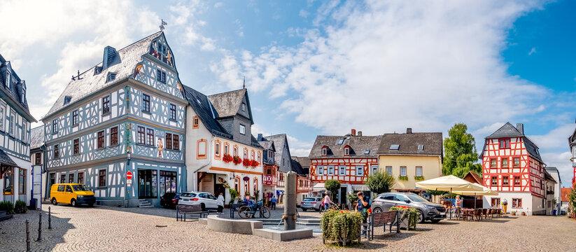 Marktplatz, Bad Camberg, Hessen, Deutschland