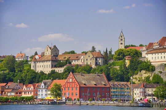 Hafen von Meersburg am Bodensee