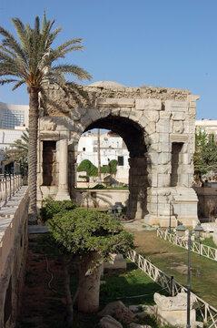 Arch of Marcus Aurelius, Tripoli, Libya