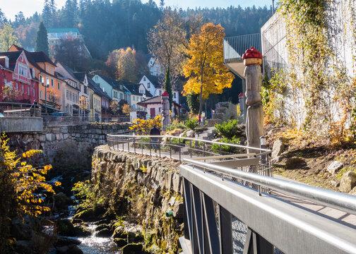 Triberg im Schwarzwald Herbst