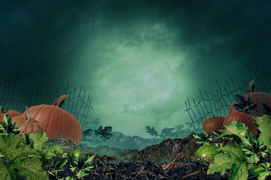 Halloween Autumn Background