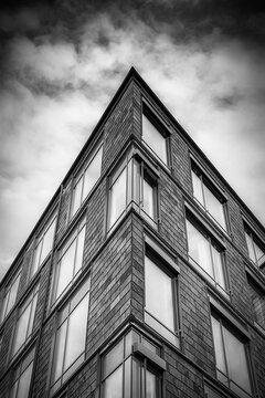 Fine Art Modern Architecture Hi Contrast