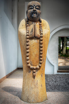 Yangtorp Sanctuary Buddhist Monk Statue