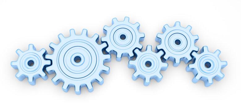 gears mechanism gear teamwork cooperation