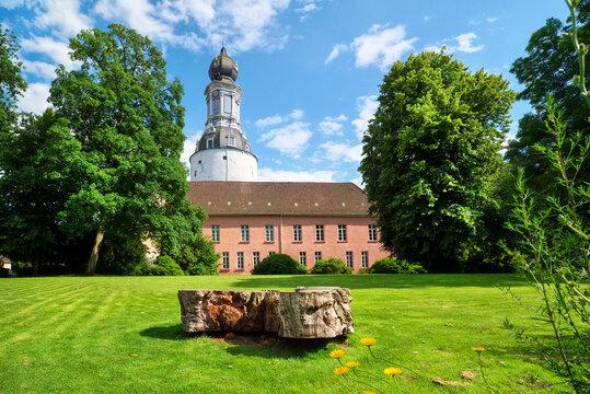 Cityscape of Jever, Lower Saxony, Germany