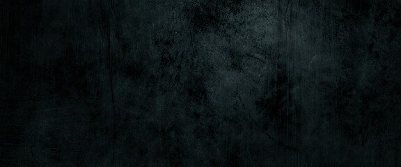 Fototapeta Dark scary wall background. Horror cement background obraz