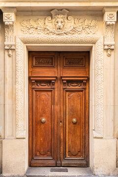 Paris, an ancient door