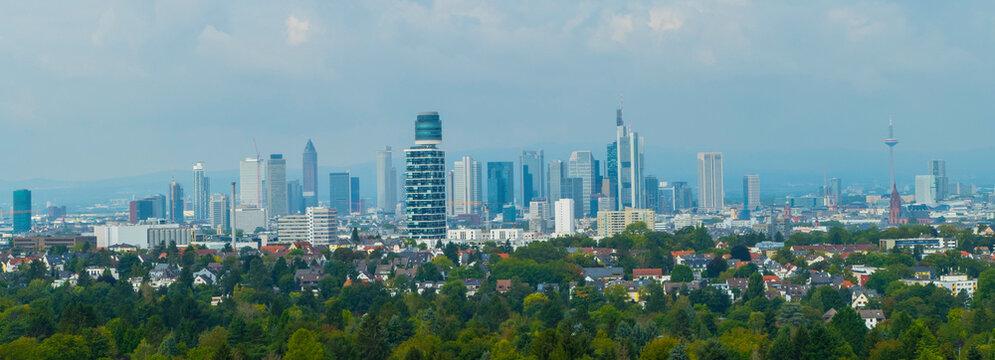 Skyline Frankfurt am Main Stadtpanorama