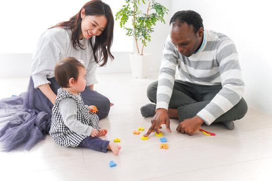英会話教室の体験をする赤ちゃん