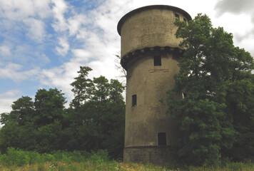 Stara wieża kolejowa