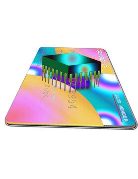 Microchip on Credit Card