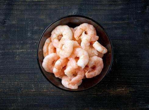 bowl of prawns