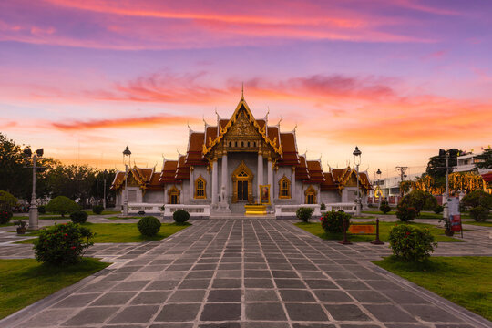 Wat Benchamabopitr Dusitvanaram, Bangkok, Thailand