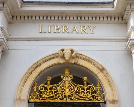 Library in Saffron Walden, Essex