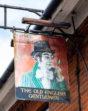 The Old English Gentlemen Public House in Saffron Walden, Essex