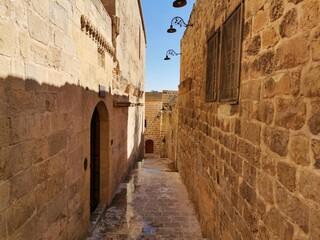 Narrow streets. The historical narrow streets of Mardin.