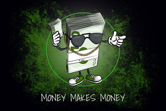 Drawing (in german Zeichnung) – Money makes Money