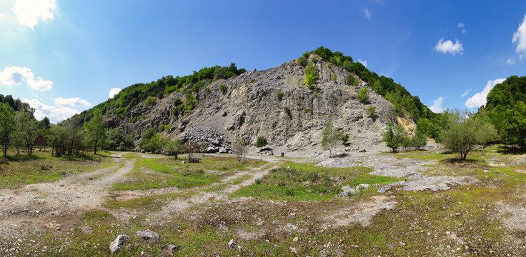 Old stone quarry in Borinka - Slovakia