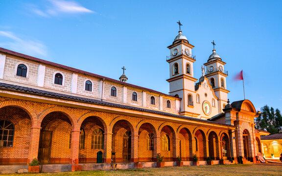 Monastery of Santa Rosa de Ocopa in Junin, Peru
