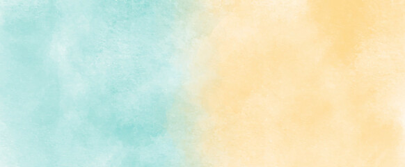 Fototapeta beautiful and colorful painted grungy watercolor background with white smoke.beautiful and colorful watercolor used for making wallpaper,banner,cover design,painting,arts,printing and decoration. obraz