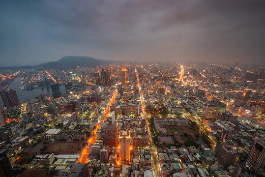Kaohsiung, Taiwan City Skyline