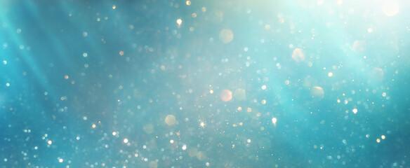 Obraz glitter vintage lights background. silver, blue, gold and white. de-focused - fototapety do salonu
