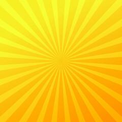 Fototapeta Yellow sun rays abstract background high resolution vector obraz
