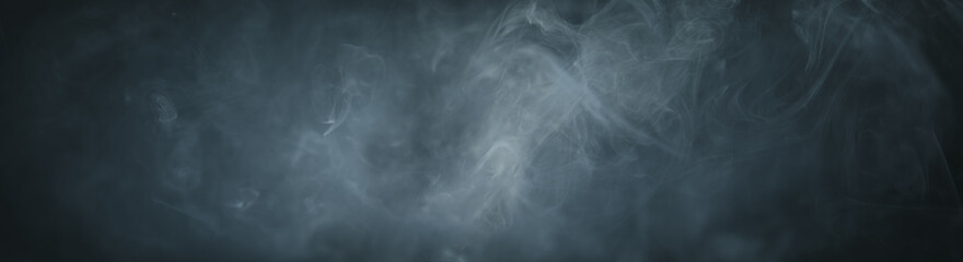 Spooky fog or smoke background for Halloween night.